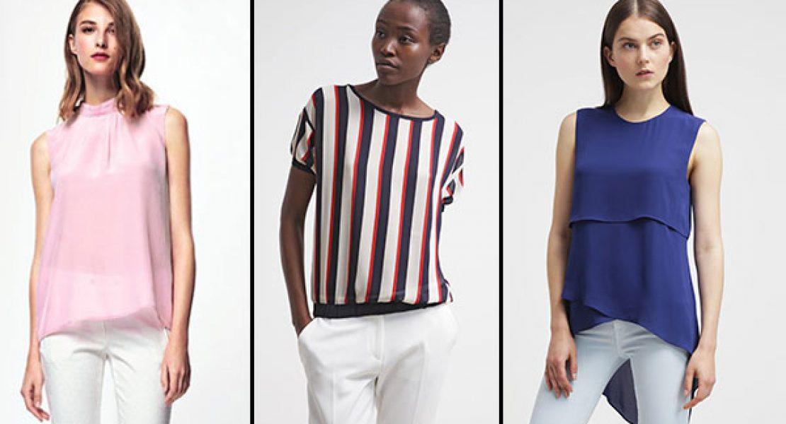 Die Blusen Trends 2015 – so tragen wir die neuen Blusen