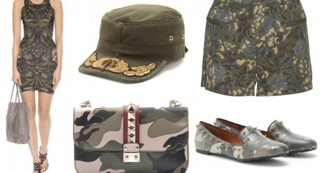 Army Look – Camouflage lässt grüßen