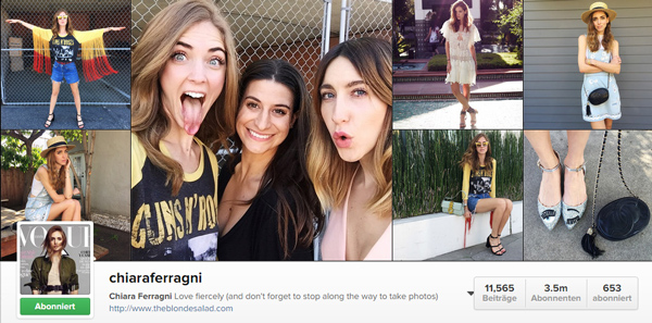 ciara ferragni instagram account