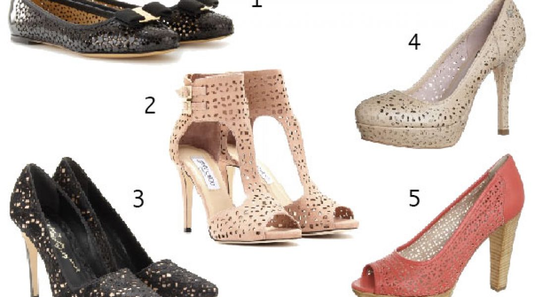 Neu und trendy – Schuhe mit Cut-out-Muster