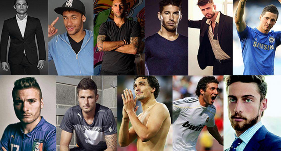 Die attraktivsten Fußball-Spieler der WM 2014