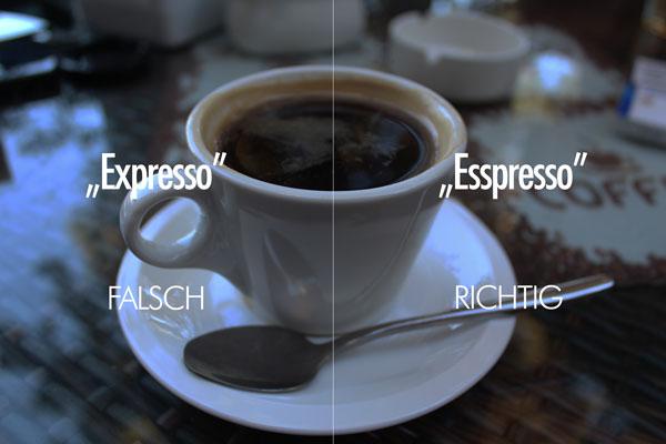 Espresso Aussprache