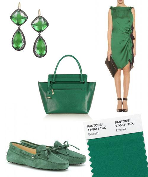 Farbtrend 2013 emerald