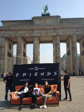FRIENDS Fans am Brandenburger Tor