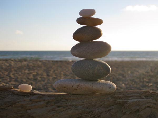 durch Meditation die innere Balance finden