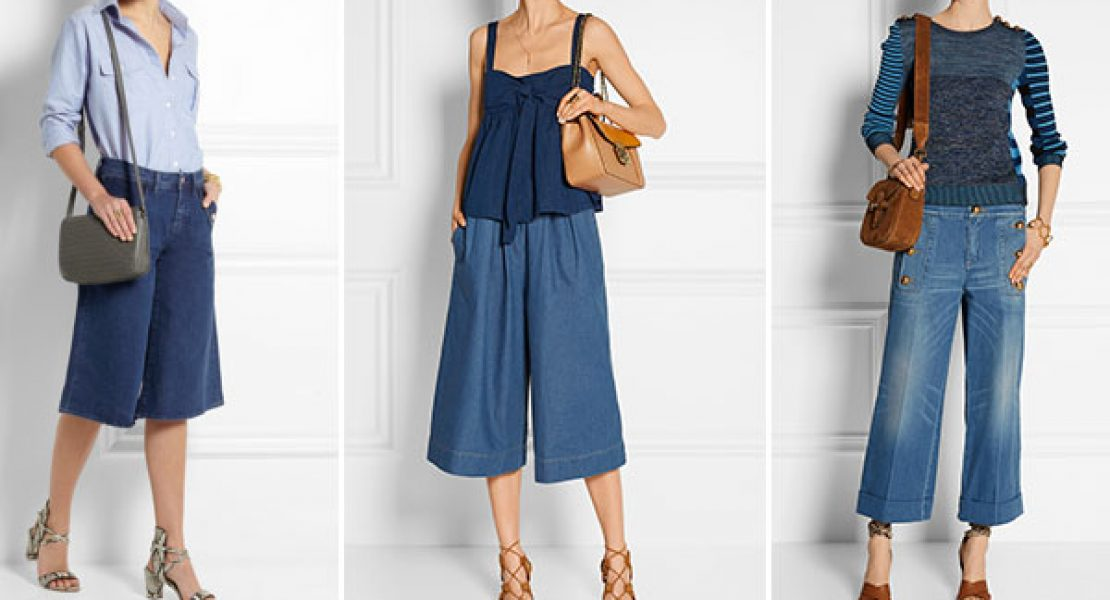 Jeans Culottes –  mal ein echt neuer Trend