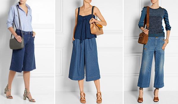Das Trendsetter It-Piece des Sommers: Jeans Culottes