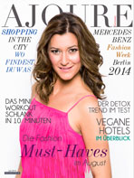AJOURE´ Cover Monat August 2014