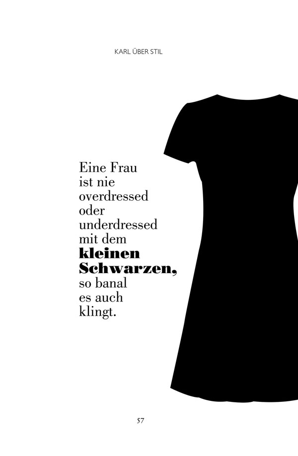 Karl Lagerfeld Zitat
