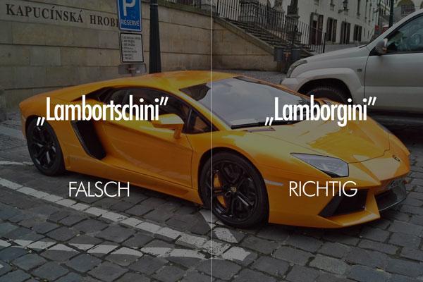 Lamborghini Aussprache
