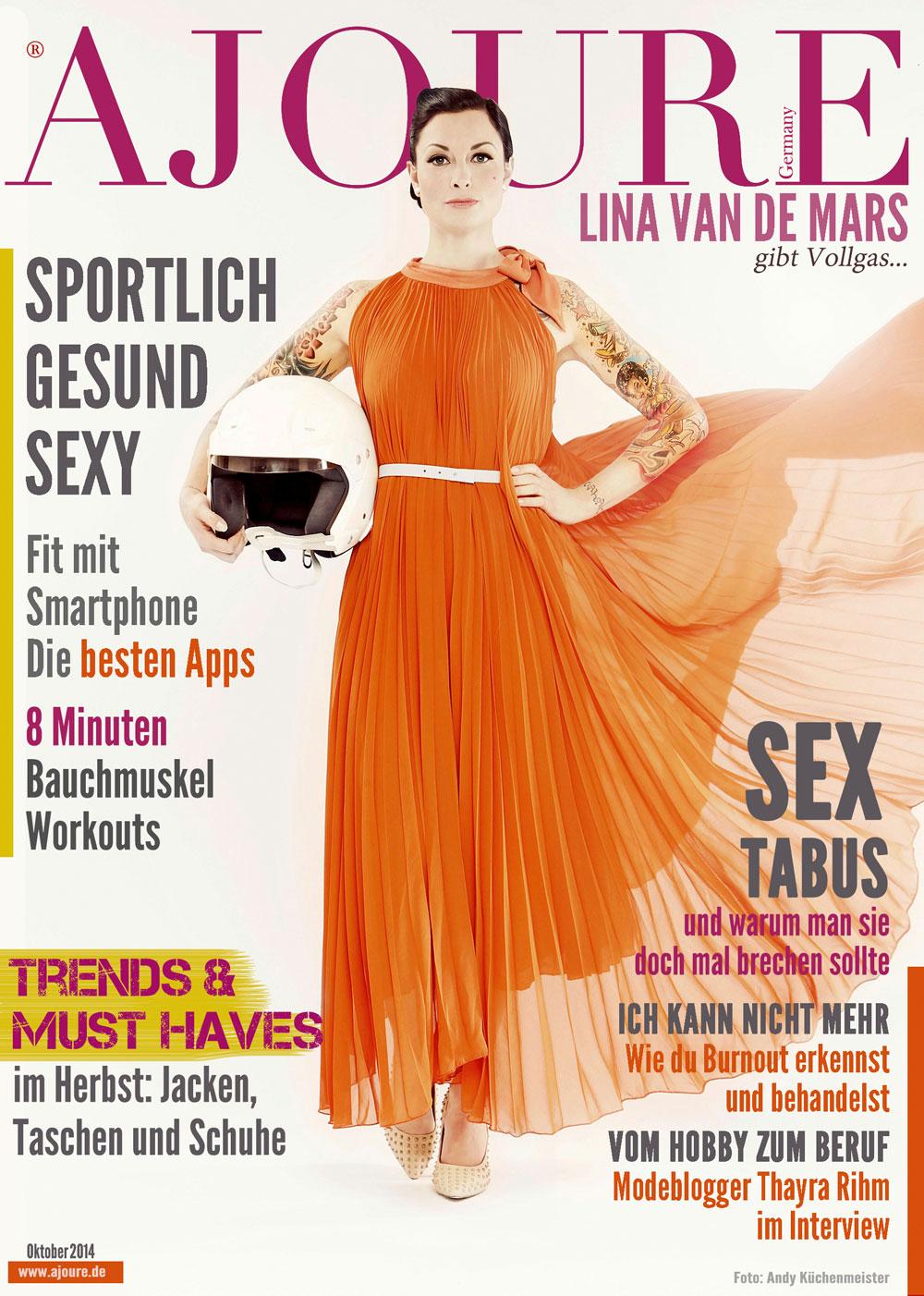 AJOURE´ Cover Monat Oktober 2014