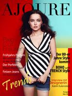 Ajouré Cover Monat Mai 2013