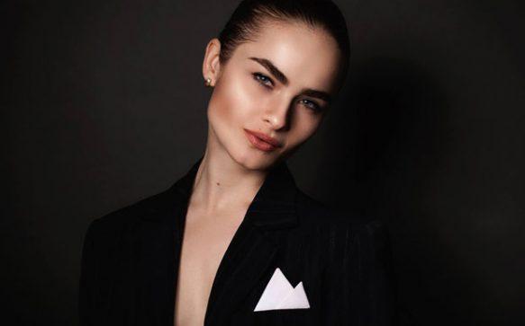 Model Marina Arsangerieva im Porträt
