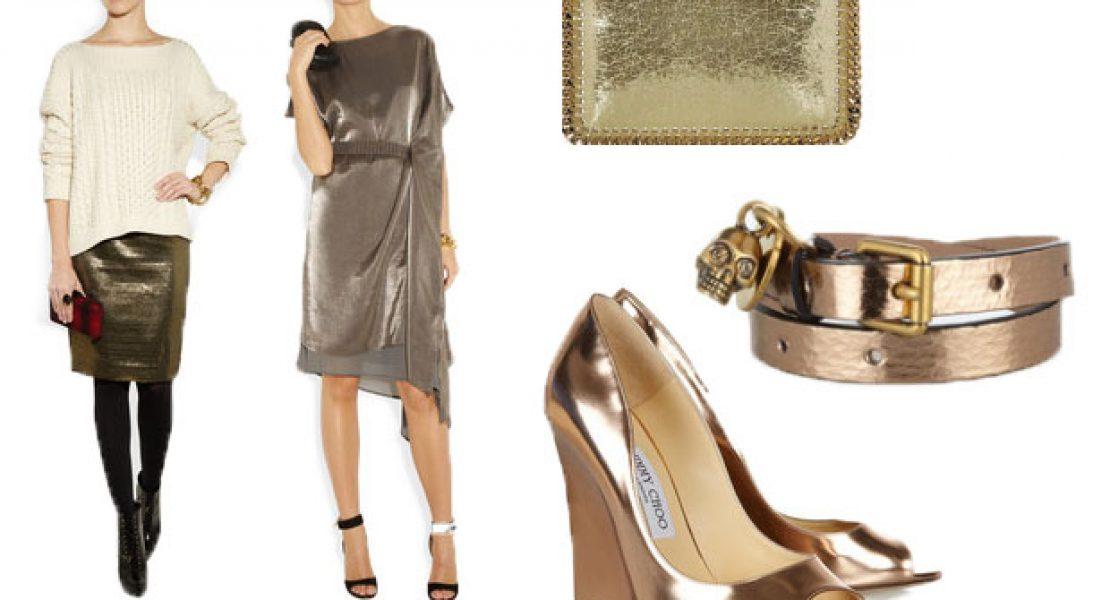 Metallic-Look der schimmernd-schöne Glitzer-Trend