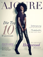 Ajouré Cover Monat November 2013