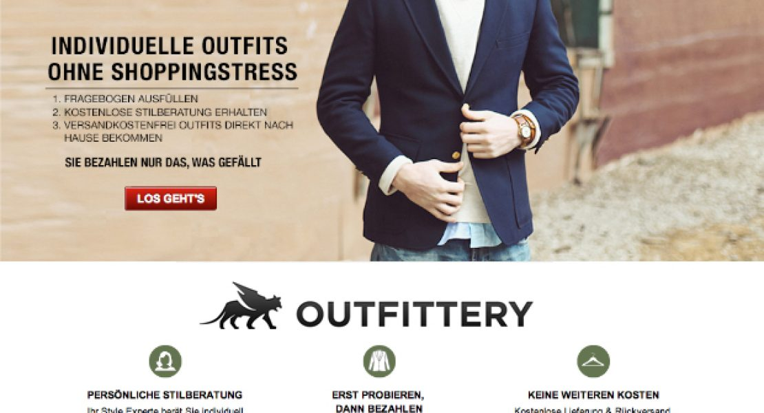 OUTFITTERY – individuelle Outfits für Männer
