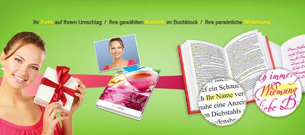 personalisiertes Buch Muttertag