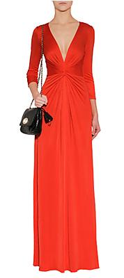 Red Maxi Dress ISSA