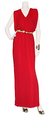 Rotes Maxi-Kleid von RAOUL