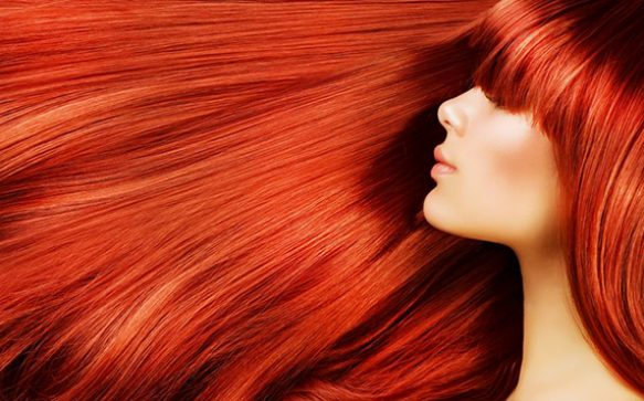 On Fire: Rotes Haar