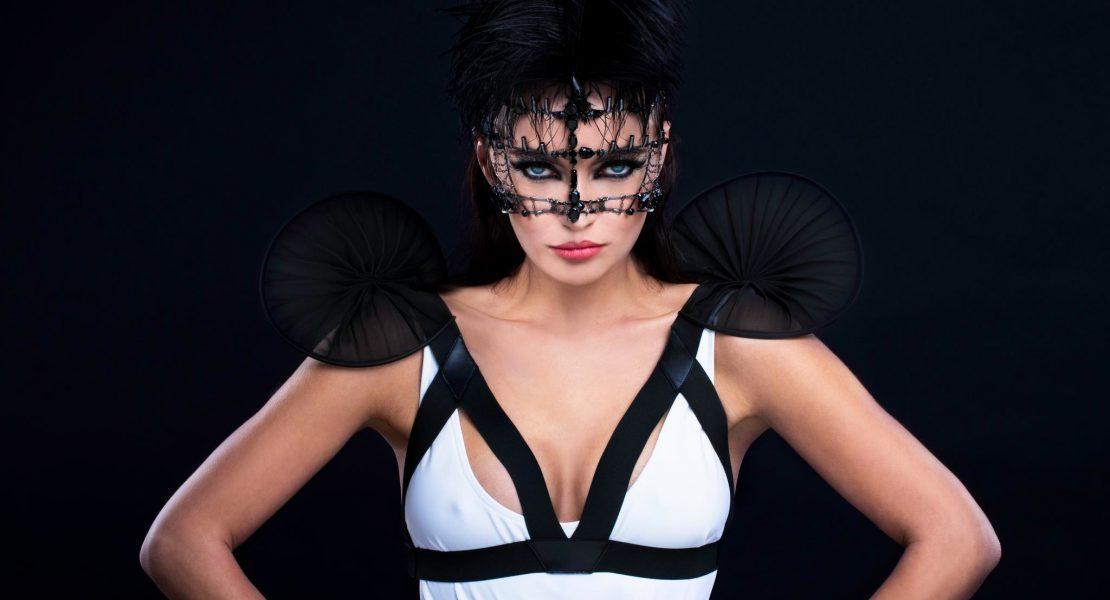 Model Sabine Roll im Porträt