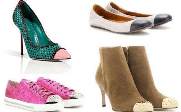 Schuh-Trend: Cap Toe