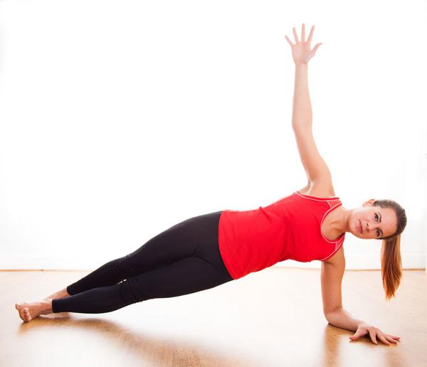 Seitstütz - Side Plank