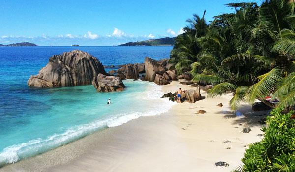Hochzeit Flitterwochen Seychellen