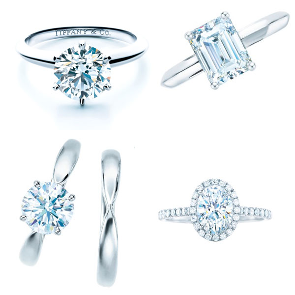 Tiffany Verlobungsringe & Eheringe
