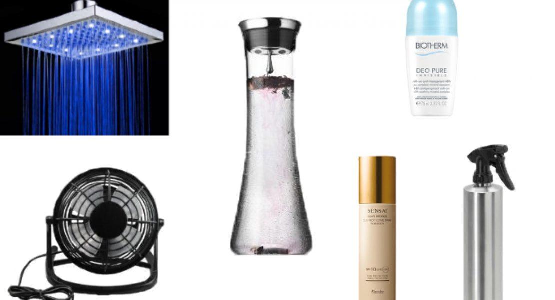 10 Tipps für die schnelle Abkühlung an heißen Tagen