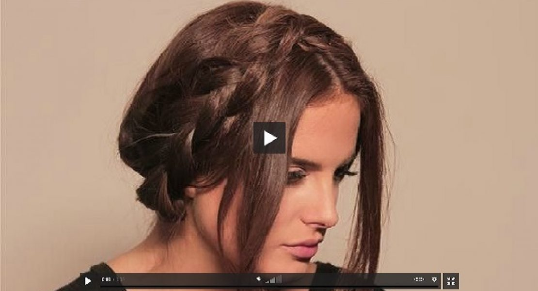 Tutorial der Woche: Messy Milkmaid Braid