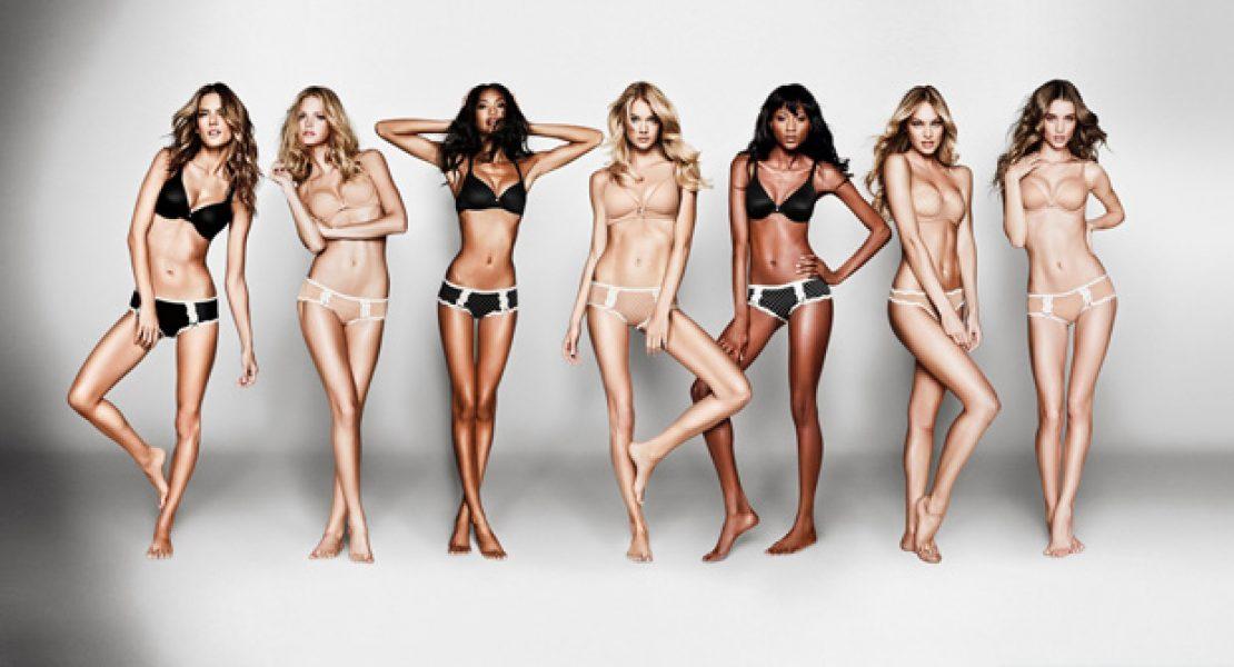 Victorias Secret Schöne Frauen Und Bezaubernde Lingerie Ajourede
