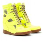 wedgesneakers-neongelb