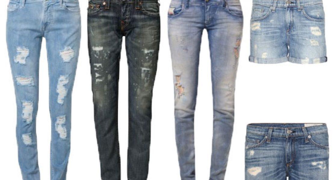 Zerrissene Jeans …